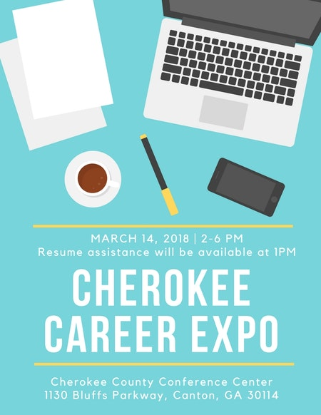 4th Annual Cherokee Career Expo · Cherokee Office of Economic ...