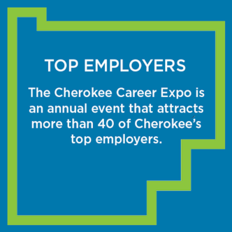 Cherokee Career Expo · Cherokee Office of Economic